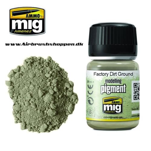 A.MIG 3030 FACTORY DIRT GROUND Pigment 35 ml