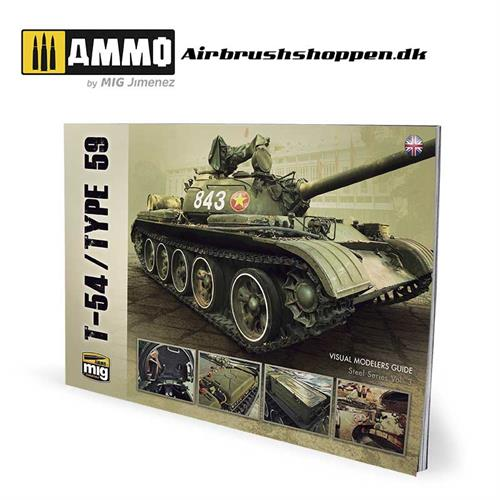AMIG6032 T-54/TYPE 59 – VISUAL MODELERS GUIDE