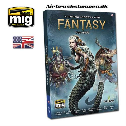 AMIG6125 PAINTING SECRETS FOR FANTASY FIGURES