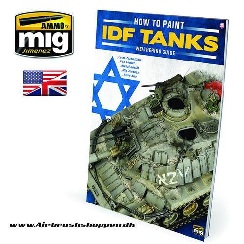 AMIG 6128 TWMS - HOW TO PAINT IDF TANKS - WEATHERING GUIDE