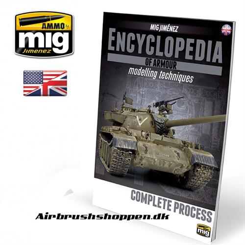 A.MIG 6155 ENCYCLOPEDIA OF ARMOUR Vol.6 bog complete process