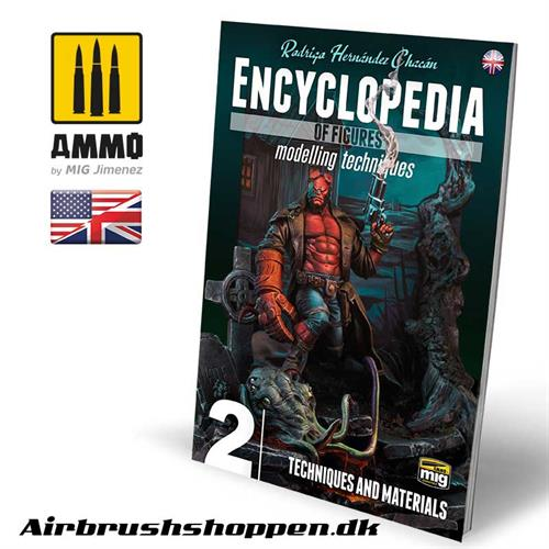 AMIG 6222 ENCYCLOPEDIA OF FIGURES MODELLING TECHNIQUES VOL. 2 - TECHNIQUES & MATERIALS (English)