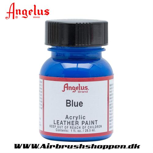 Blue - Blå ANGELUS LEATHER PAINT 29,5 ML    040