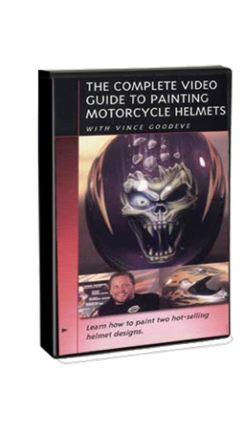 Complete Guide to Painting Motorcycle Helmets