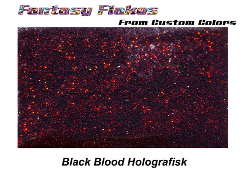 La 304 Black Blood holo (0.1mm) 10 gram