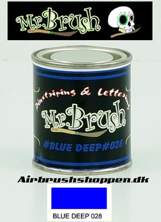 Mr Brush Deep Blue
