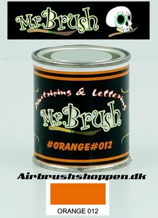 Mr Brush Orange