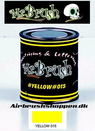 Mr Brush Yellow