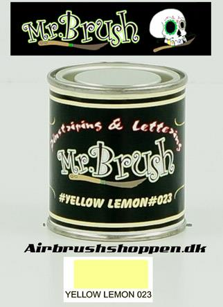 Mr Brush Lemon Yellow