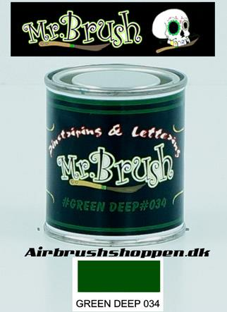 Mr Brush Deep Green