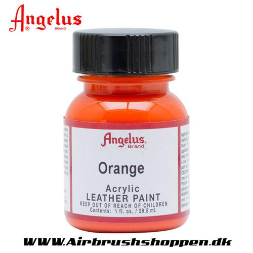 Orange ANGELUS LEATHER PAINT 29,5 ML    024