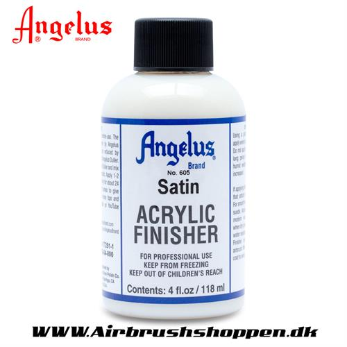 Finisher satin - Satin Klar lak Angelus 118 ml  605