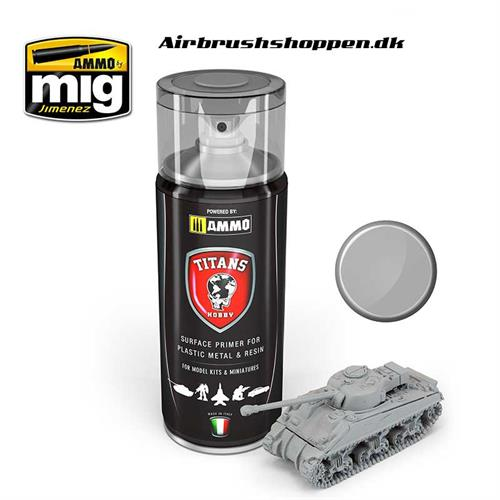 TTH102 TITANS HOBBY: LIGHT GREY MATT PRIMER