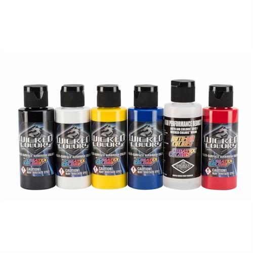 w101 Wicked basic kit 6 x 60ml