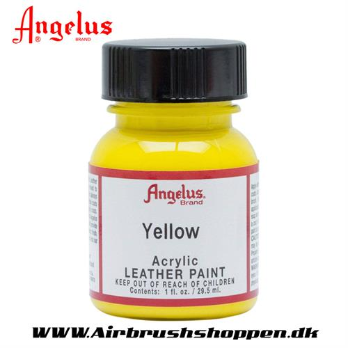 Yellow - Gul ANGELUS LEATHER PAINT 29,5 ML   075