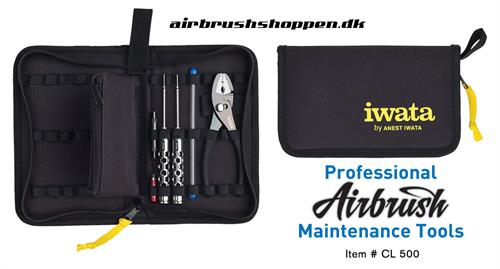 Iwata Professional Airbrush  Maintenance Tools IW CL-500