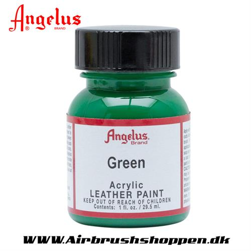 Green - Grøn ANGELUS LEATHER PAINT 29,5 ML   050