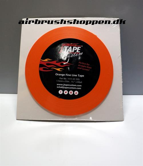Fine line tape. Orange 1,5 mm x 55 m Jtape