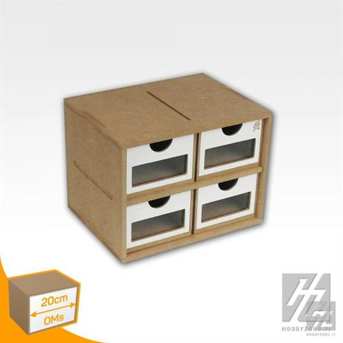 OMs01a Drawers module - skuffe modul 20cm HobbyZone