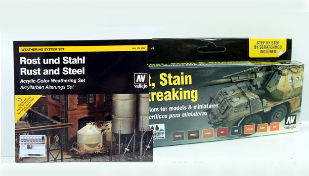 Special kits Vallejo/ weathering - streaking - mm.